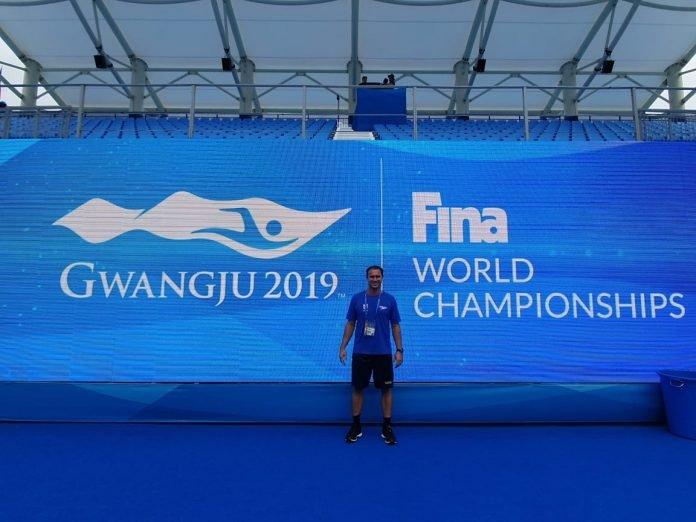 Renan Rossin integra comissão técnica do Brasil no Mundial de Desportes Aquáticos 2019